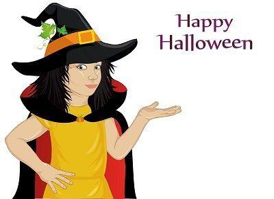 Halloween party magician